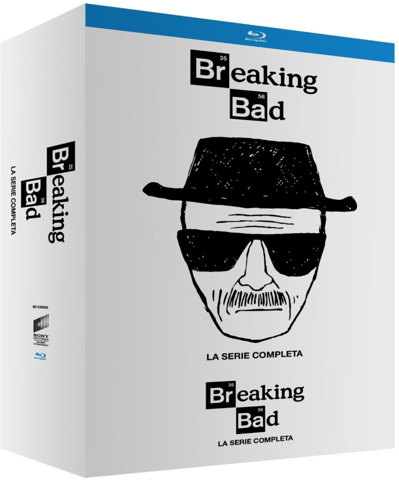 Breaking Bad - La Serie Completa (White Edition, 16 Blu-ray)