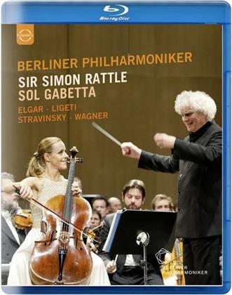 Berliner Philharmoniker, Sir Simon Rattle, … - Elgar / Ligeti / Stravinsky / Wagner (Euro Arts)