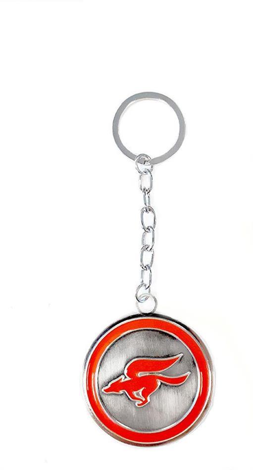 Porte-clef Métal - Logo Rond - Starfox Zero - Nintendo - 5 cm