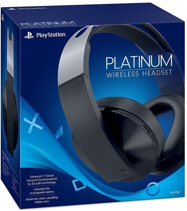 PS4 Headset original Platinum wireless