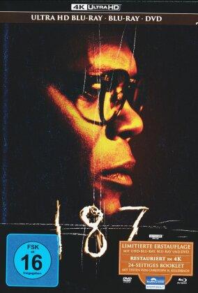 187 - Eine tödliche Zahl (1997) (Mediabook, 4K Ultra HD + Blu-ray + DVD)