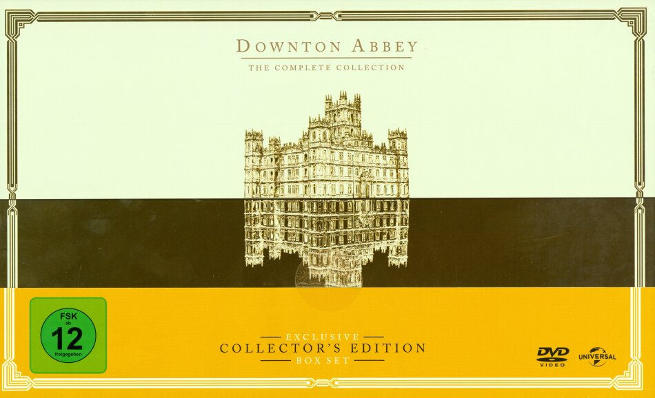 Downton Abbey - The Complete Collection - Die komplette Serie (Collector's Edition, 26 DVDs)