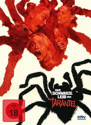 Der schwarze Leib der Tarantel (1971) (Cover C, Limited Edition, Uncut, Mediabook, Blu-ray + DVD)