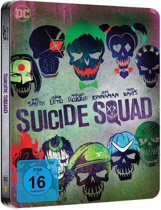 Suicide Squad (2016) (Extended Edition, Versione Cinema, Edizione Limitata, Steelbook, Blu-ray 3D + 2 Blu-ray)