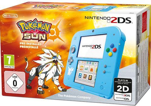 2DS Console - Special Edition Pokémon Sun (Special Edition)