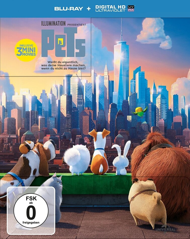Pets (2016) (Limited Edition, Steelbook)
