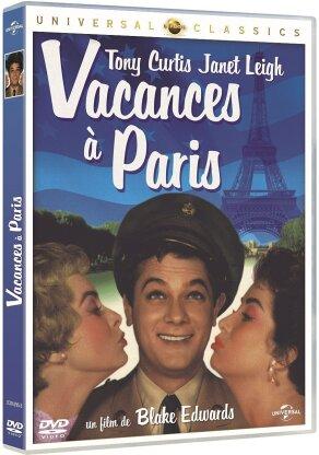 Vacances à Paris (1958) (Universal Classics, s/w)