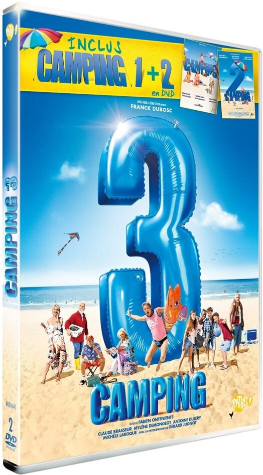 Camping 3 (inclus Camping 1 + 2) (2 DVD)