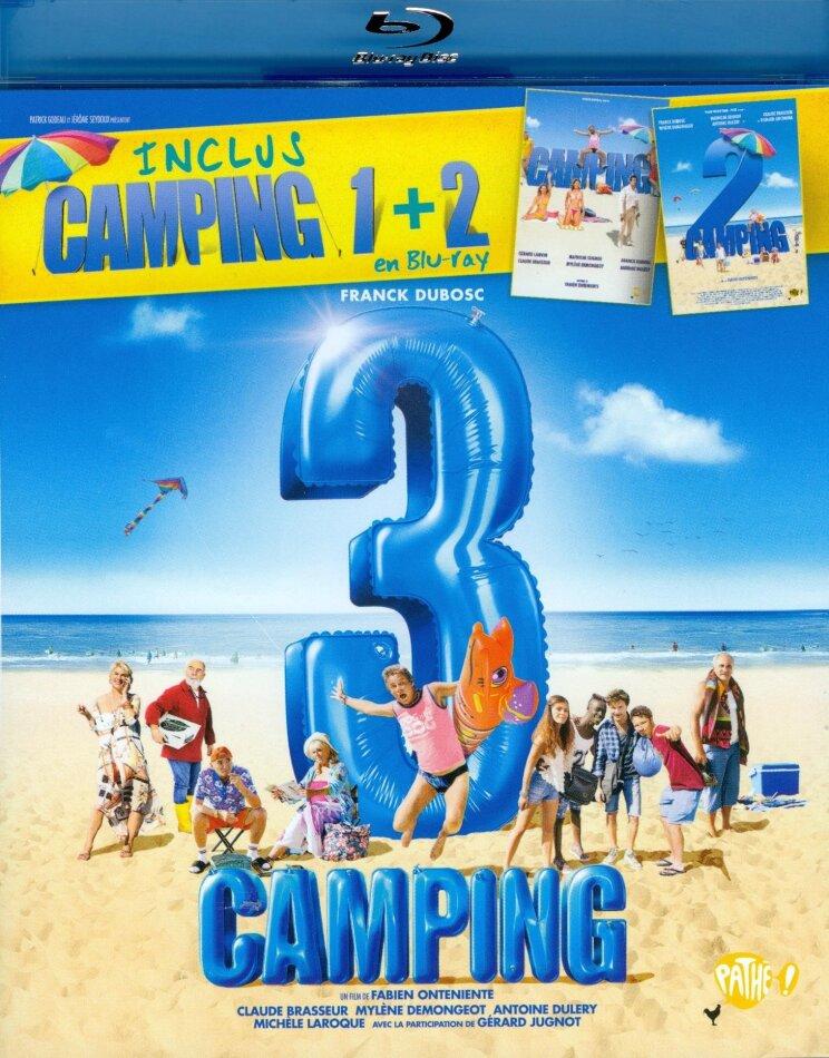 Camping 3 (inclus Camping 1 + 2) (2 Blu-ray)