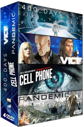 400 Days / Vice / Cell Phone / Pandemic (Box, 4 DVDs)