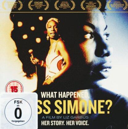 What Happened, Miss Simone? (2015) (DVD + CD)