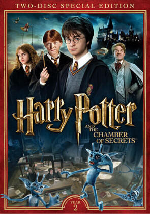 Harry Potter and the Chamber of Secrets (2002) (Special Edition, 2 DVDs)