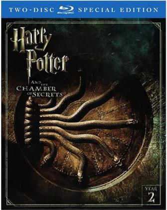 Harry Potter and the Chamber of Secrets (2002) (Special Edition, 2 Blu-rays)