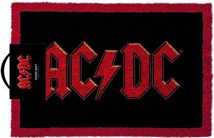 AC/DC: Logo - Door Mat