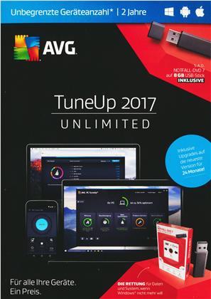 AVG TuneUp 2017 Unlimited USB E.- [unbegrenzte Lizenzen] [PC/Mac/Android]