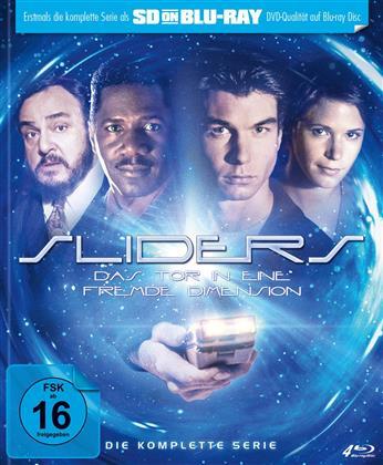 Sliders - Das Tor in eine fremde Dimension - Die Komplette Serie (Mediabook, 4 Blu-rays)
