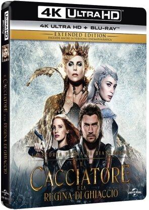 Il cacciatore e la regina di ghiaccio (2016) (Extended Edition, Kinoversion, 4K Ultra HD + Blu-ray)