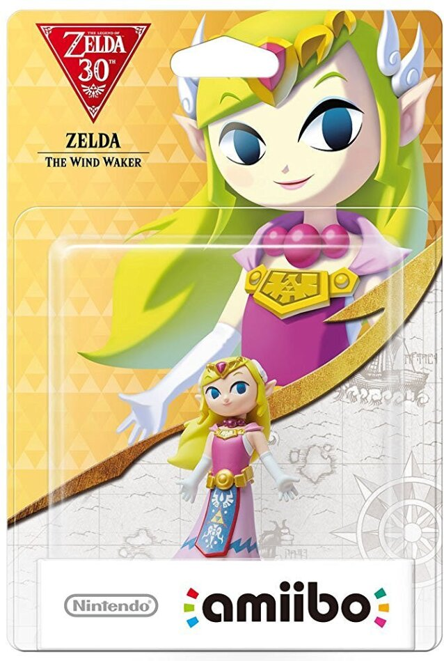 amiibo Zelda The Wind Waker - The Legend of Zelda Collection
