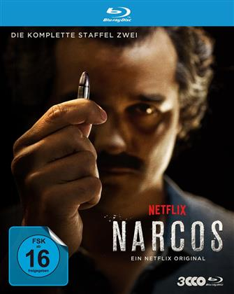 Narcos - Staffel 2 (3 Blu-rays)