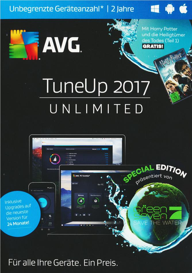 AVG TuneUp 2017 Unlimited Special E.- [unbegenzte Lizenzen] [PC/Mac/Android]