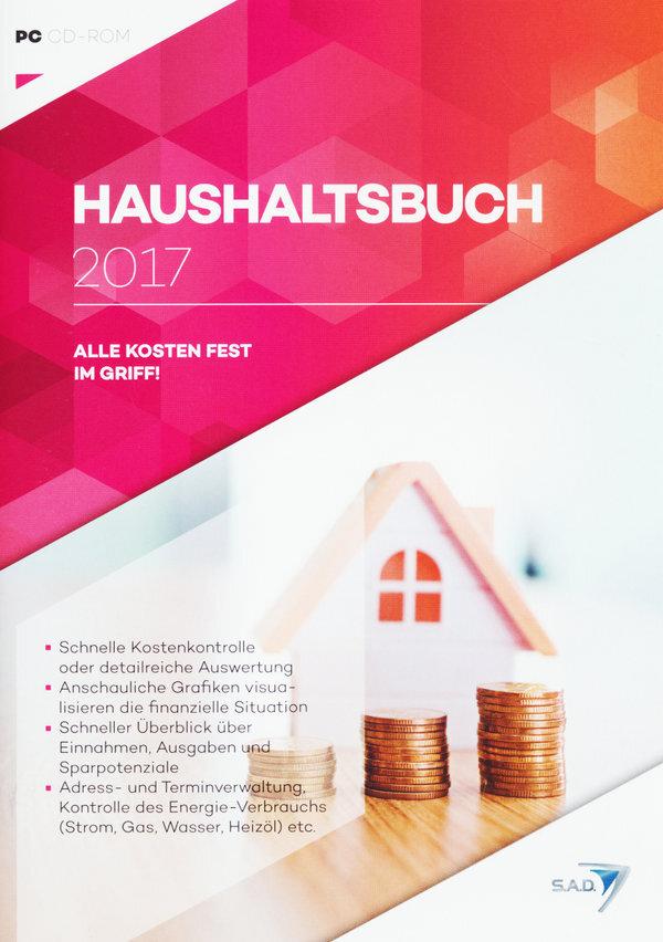 Haushaltsbuch 2017