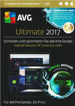 AVG Ultimate 2017 - Special Edition [unbegrenzte Lizenzen] [PC/Mac/Android]