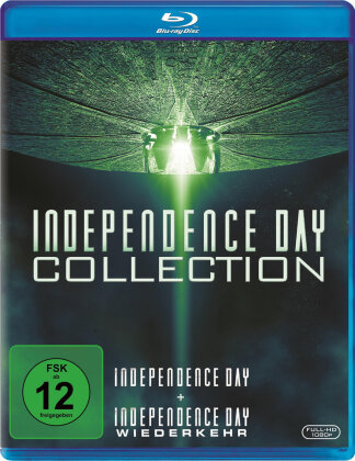 Independence Day Collection - Independence Day / Independence Day 2 - Wiederkehr (2 Blu-rays)