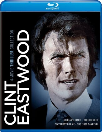 Coogan's Bluff / The Beguiled / Play Misty for Me / The Eiger Sanction (Clint Eastwood: 4-Movie Thriller Collection, 4 Blu-rays)