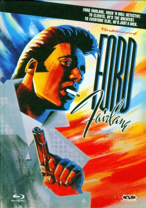 The Adventures of Ford Fairlane (1990) (Cover C, Limited Edition, Uncut, Mediabook, Blu-ray + DVD)