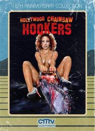 Hollywood Chainsaw Hookers (1988) (18th Anniversary Collection, Mediabook, Blu-ray + DVD)