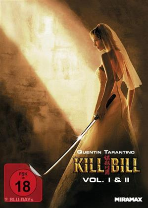 Kill Bill 1 & 2 (Cover B, Mediabook, 2 Blu-rays)