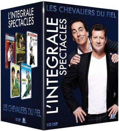 Les Chevaliers du Fiel - L'intégrale spectacles (10 DVDs)