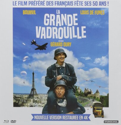 La Grande Vadrouille (1966) (Nouvelle Version Restaurée, Collector's Edition, Blu-ray + 2 DVDs)