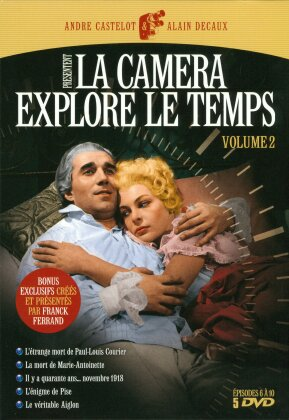 La caméra explore le temps - Volume 2 (s/w, 5 DVDs)