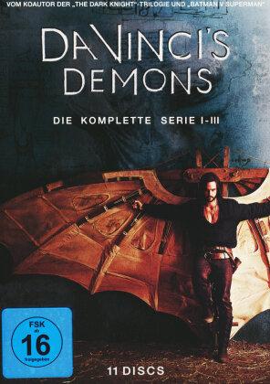 Da Vinci's Demons - Die komplette Serie - Staffel 1-3 (11 DVDs)