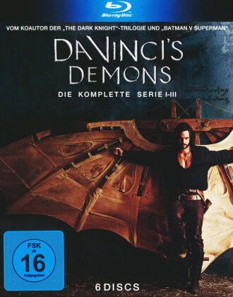 Da Vinci's Demons - Die komplette Serie - Staffel 1-3 (6 Blu-rays)