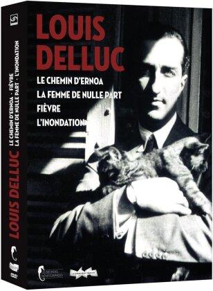 Louis Delluc - Le chemin d'Ernoa / La femme de nulle part / Fièvre / L'inondation (s/w, 3 DVDs)