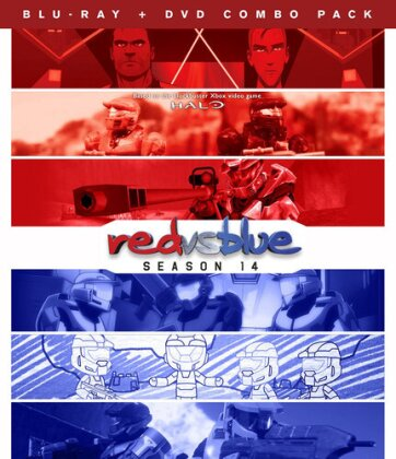 Red vs. Blue - Season 14 (Blu-ray + DVD)