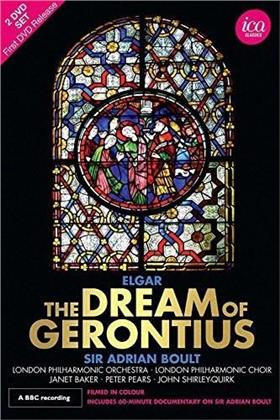 The London Philharmonic Orchestra, Sir Adrian Boult, … - Elgar - The Dream of Gerontius (ICA Classics, 2 DVDs)