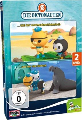 Die Oktonauten - Und der Kammzahnschleimfisch / Und der See-Elefant (Digibook, 2 DVDs)
