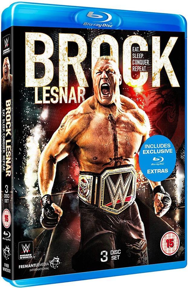 WWE: Brock Lesnar - Eat. Sleep. Conquer. Repeat. (2 Blu-ray)