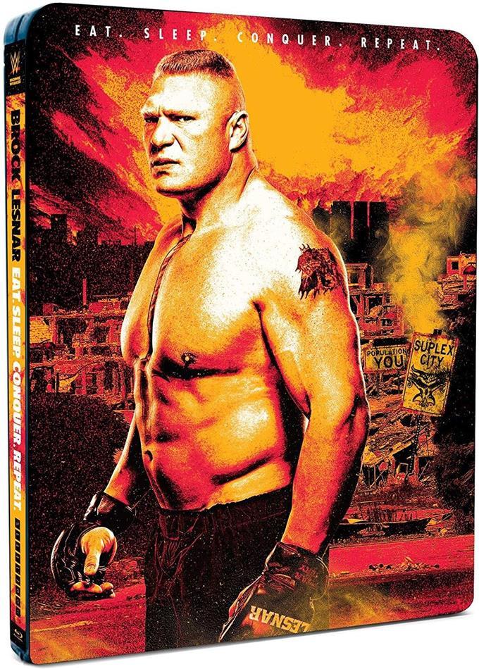 WWE: Brock Lesnar - Eat. Sleep. Conquer. Repeat. (Edizione Limitata, Steelbook, 2 Blu-ray)
