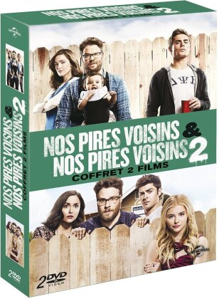 Nos pires voisins / Nos pires voisins 2 - Coffret 2 Films (Limited Edition, 2 DVDs)