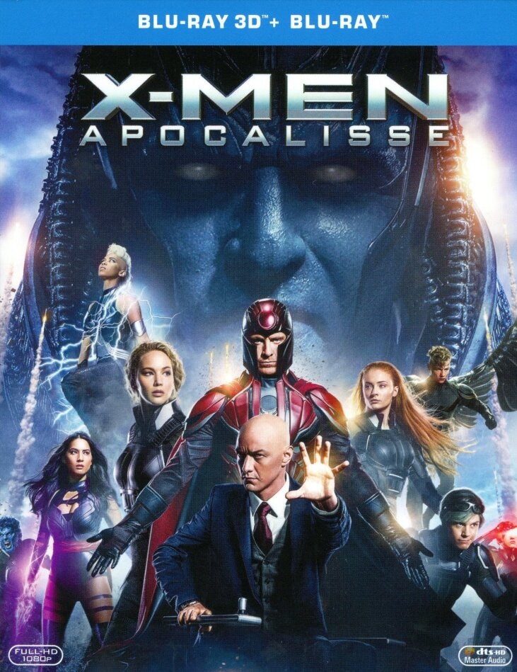 X-Men: Apocalisse (2016) (Blu-ray 3D + Blu-ray)