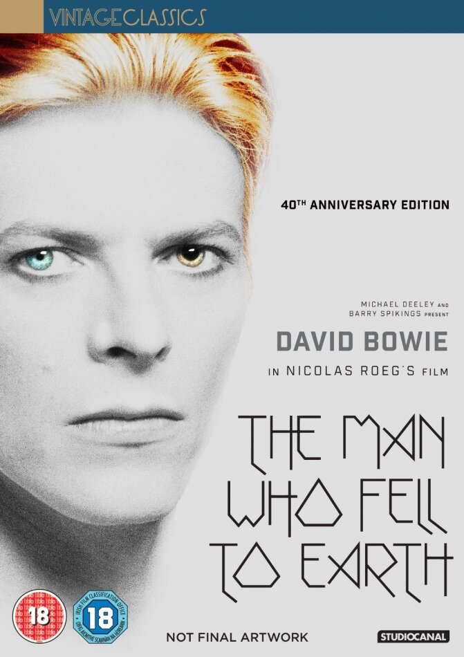 The Man who fell to Earth (1976) (Vintage Classics, 40th Anniversary Edition, 2 DVDs)