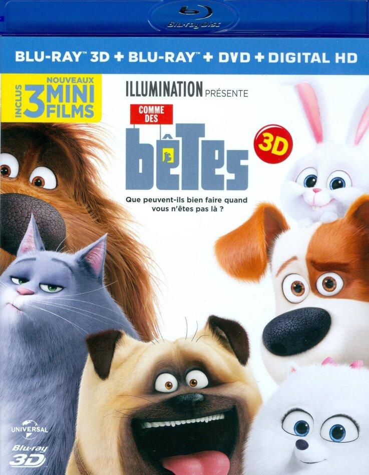 Comme des bêtes (2016) (Blu-ray 3D + Blu-ray + DVD)