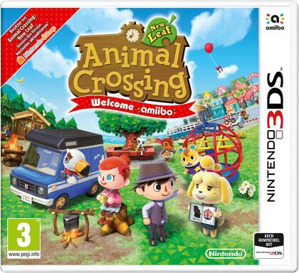 Animal Crossing: New Leaf - Welcome amiibo (inkl. Amiibo Karte)