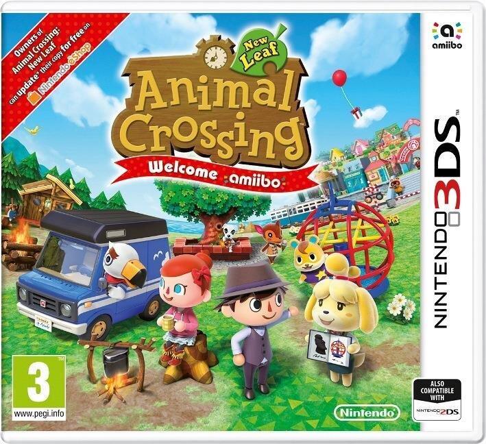 Animal Crossing: New Leaf - Welcome amiibo - (avec Carte Amiibo)