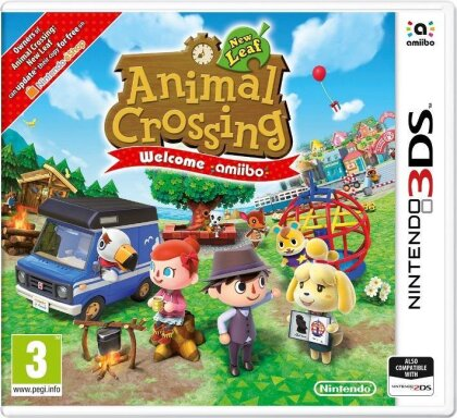 Animal Crossing: New Leaf - Welcome amiibo (including Amiibo Card)