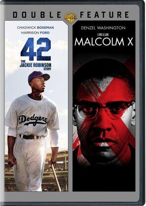 42 / Malcolm X (Double Feature, 2 DVDs)